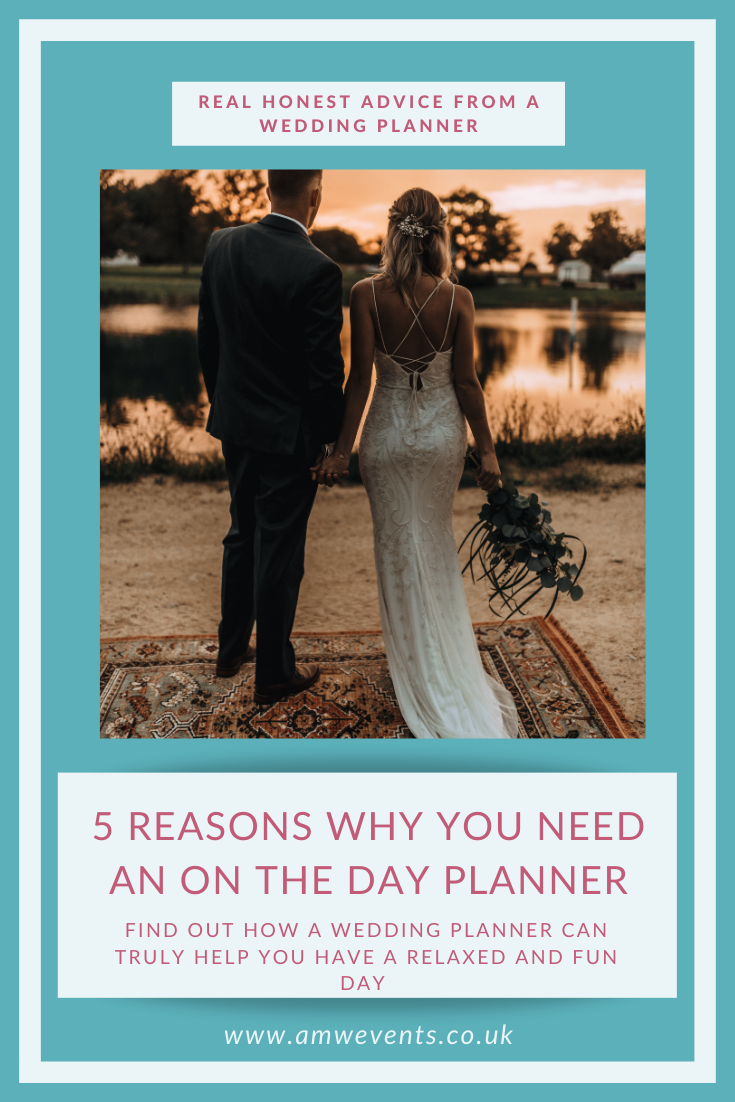 HOW CAN AN ON THE DAY WEDDING PLANNER HELP