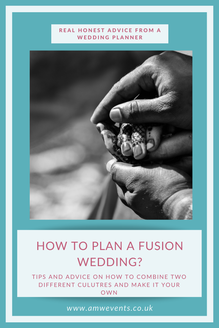 how to plan a fusion wedding
