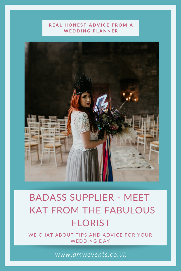 interview with wedding florist