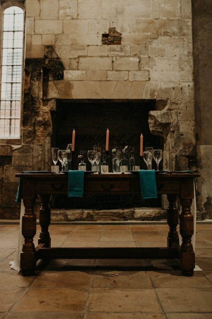 wedding table design